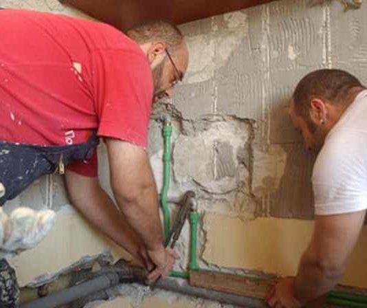 Геронтолошки центар Јагодина - радови на санацији купатила