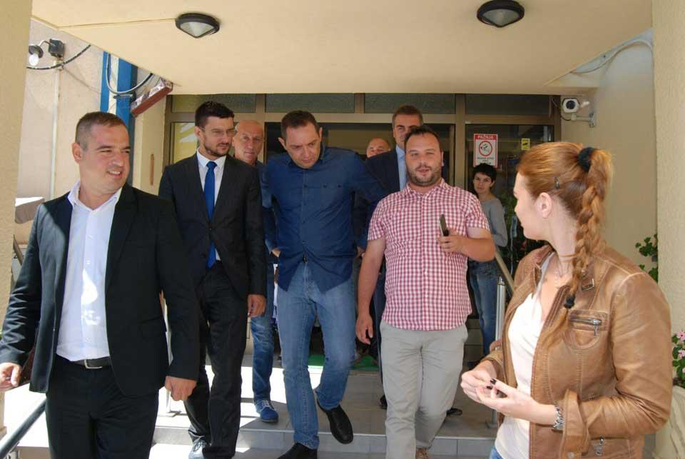 Poseta ministra Vulina Gerontološkom centru u Jagodini - slika 16