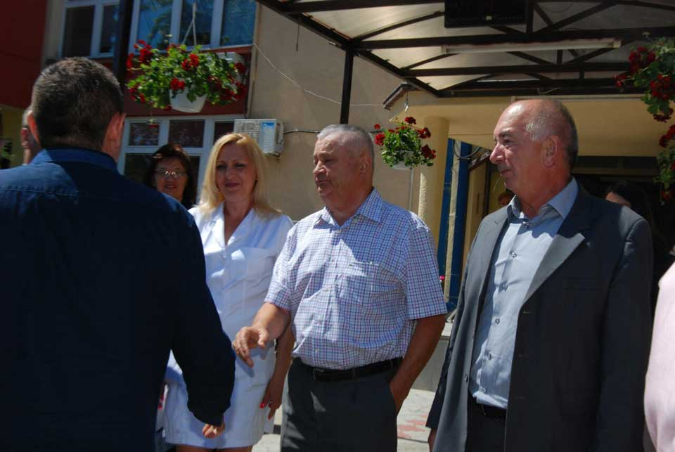 Poseta ministra Vulina Gerontološkom centru u Jagodini - slika 2