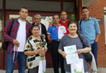 Мајски сусрети у Нишу 2017. година -екипа ГЦ Јагодина