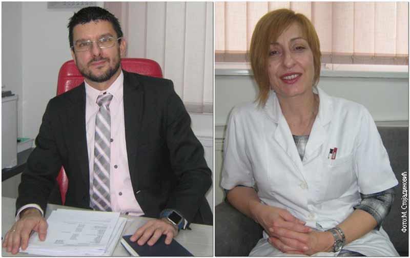 Милан Стојановић и Оливера Јаковљевић