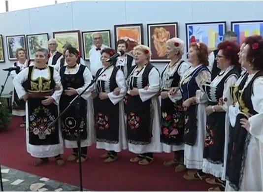 Новогодишњи концерт КУД-а Геронтолошког центра у Јагодини 12.01.2018. године