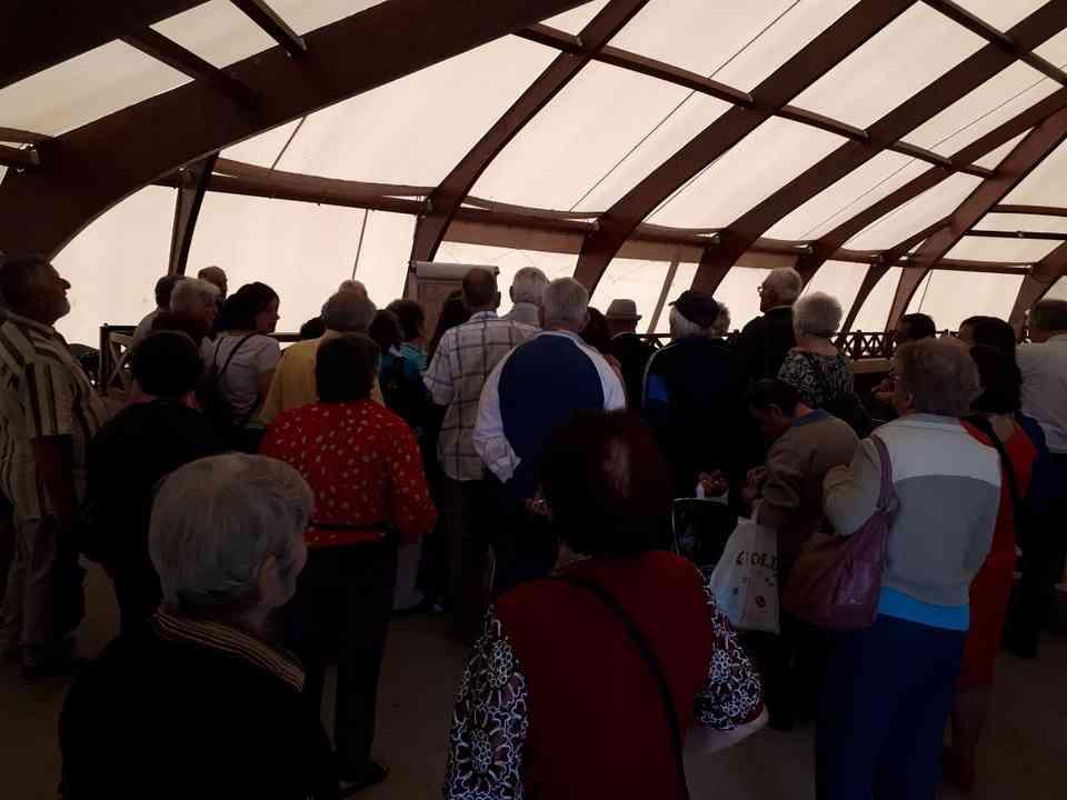 Корисници ГЦ Јагодина у посети древној римској насеобини Виминацијуму 4