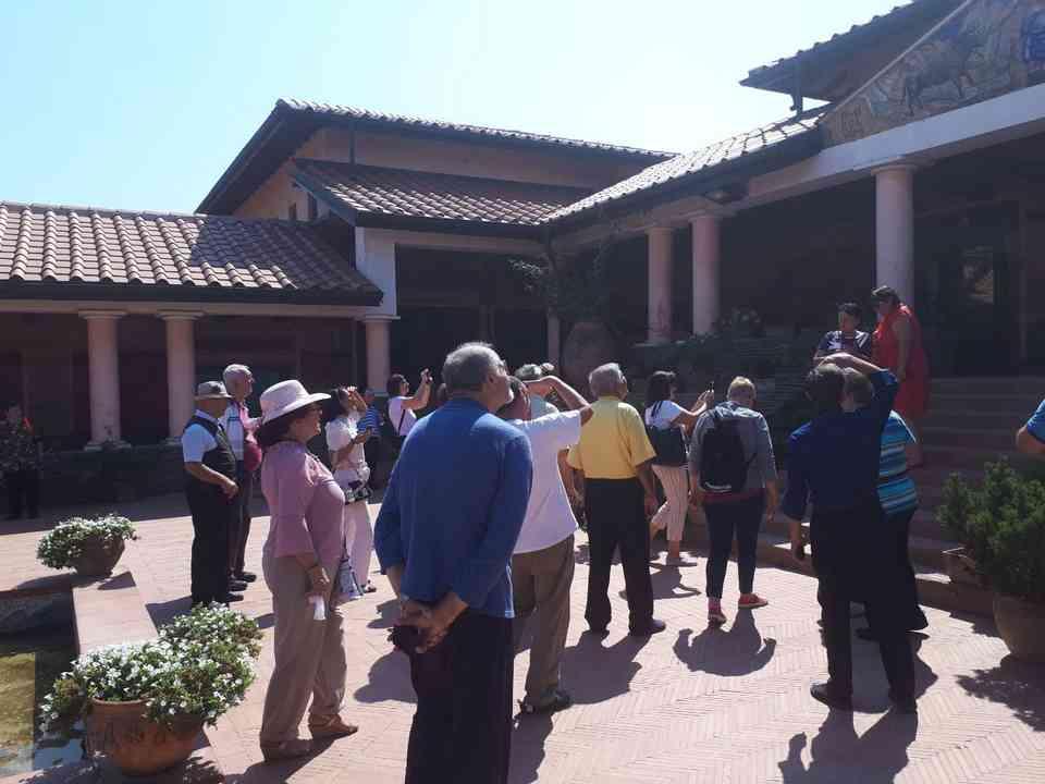 Корисници ГЦ Јагодина у посети древној римској насеобини Виминацијуму 7