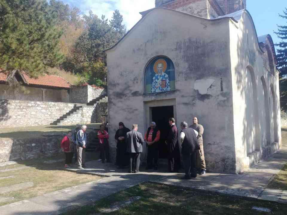 Група корисника ГЦ Јагодина у посети манастиру Јошаница - октобар 2018. године - сл. 1