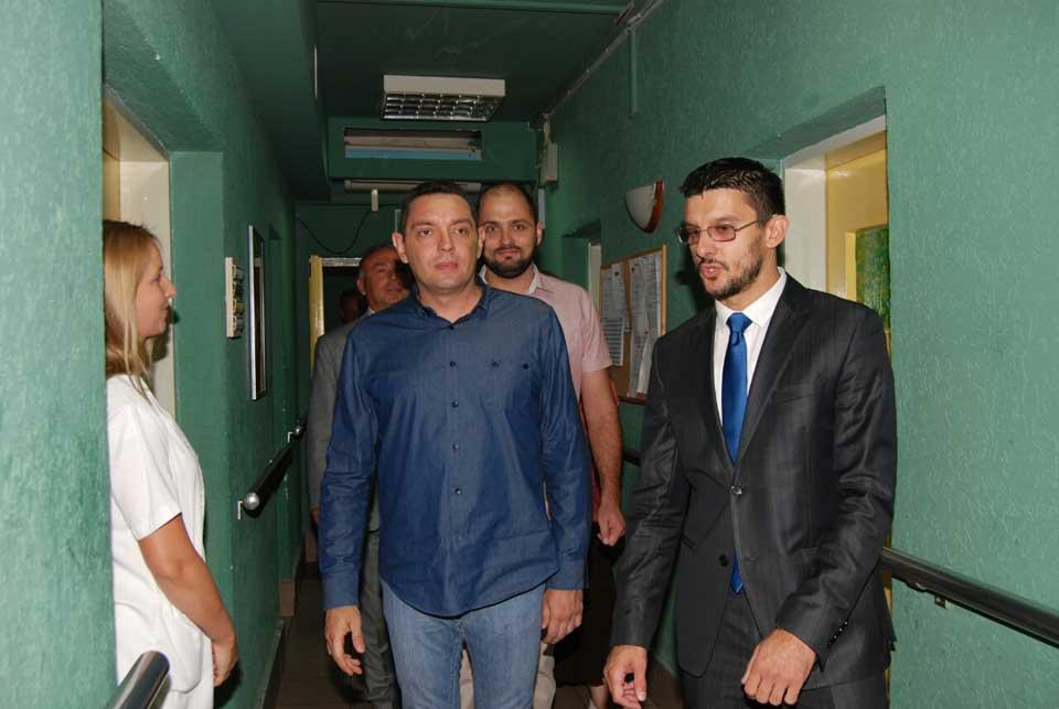 Poseta ministra Vulina Gerontološkom centru u Jagodini - slika 10