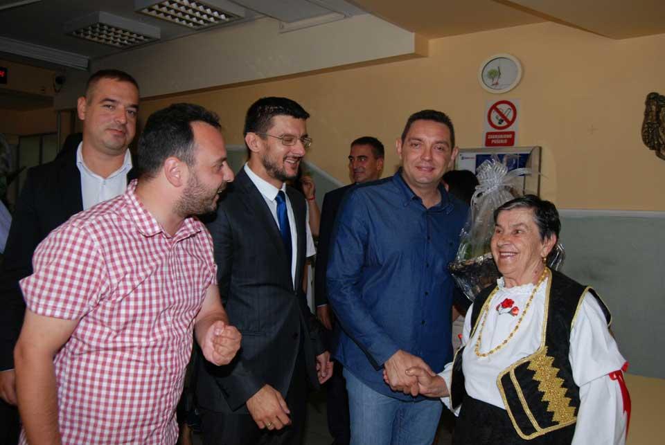 Poseta ministra Vulina Gerontološkom centru u Jagodini - slika 21
