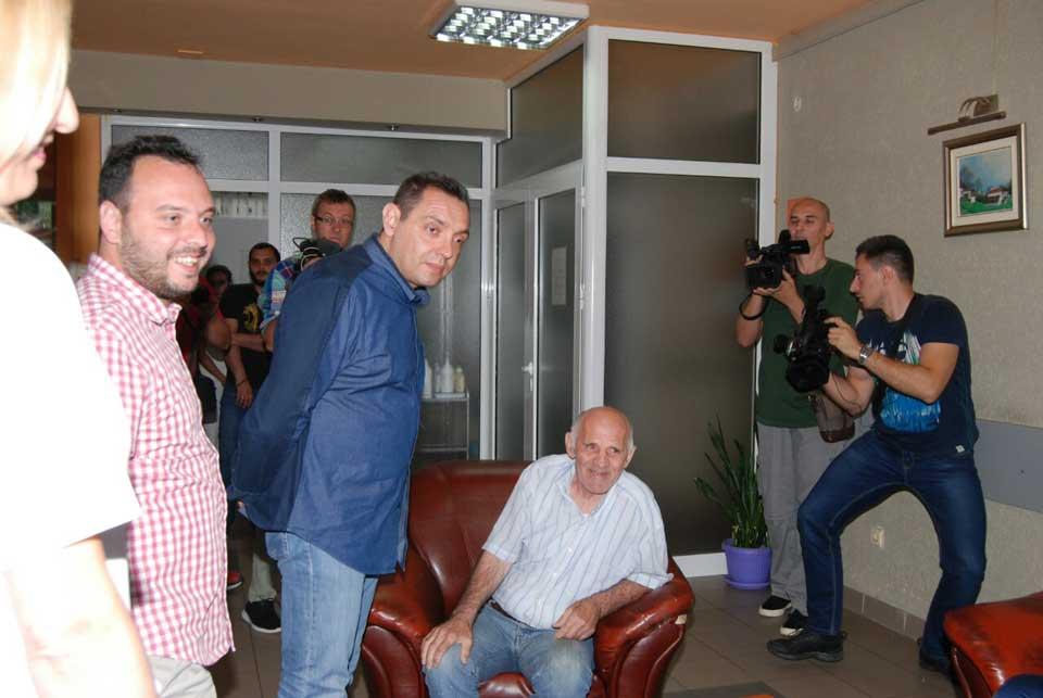 Poseta ministra Vulina Gerontološkom centru u Jagodini - slika 26