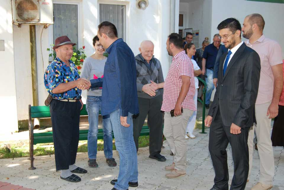 Poseta ministra Vulina Gerontološkom centru u Jagodini - slika 3