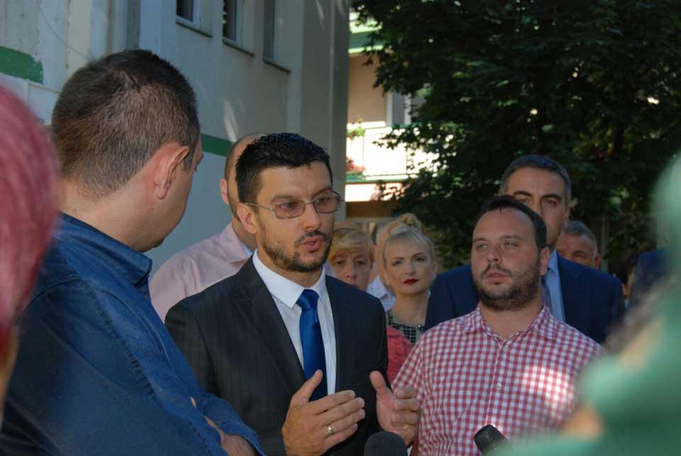 Poseta ministra Vulina Gerontološkom centru u Jagodini - slika 4