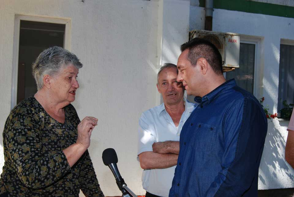 Poseta ministra Vulina Gerontološkom centru u Jagodini - slika 6