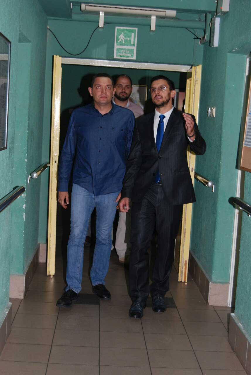Poseta ministra Vulina Gerontološkom centru u Jagodini - slika 9